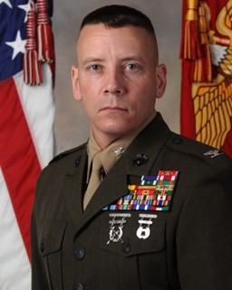 Colonel Michael Manning, Marine Corps Systems Command