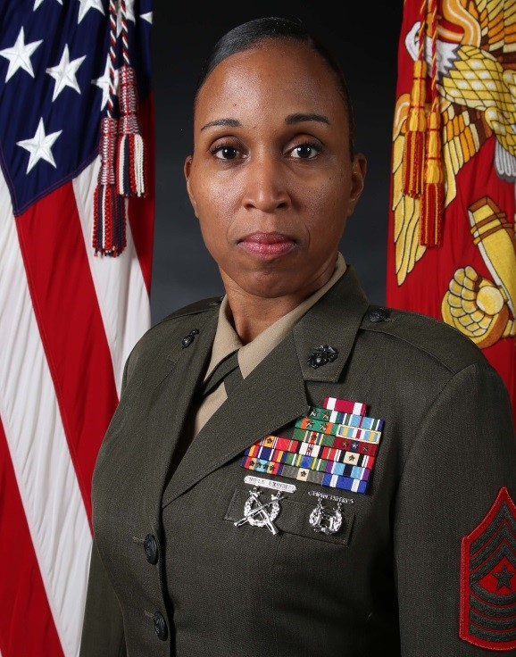 Sergeant Major Robin C. Fortner Sergeant Major Marine Corps Systems Command