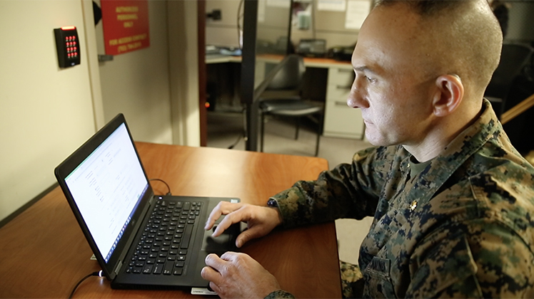 Marine Corps develops secure app to monitor holistic health and combat readiness of Marines